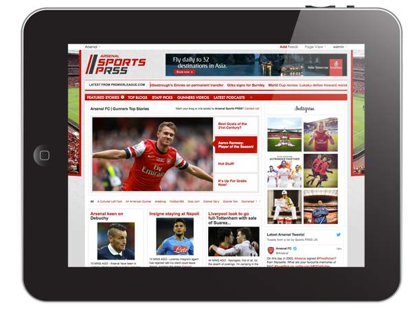 Arsenal_iPad